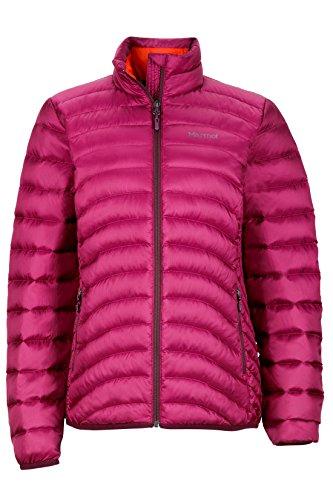 Marmot Aruna Women's Down Puffer Jacket, Fill Power 600, Magenta, Large