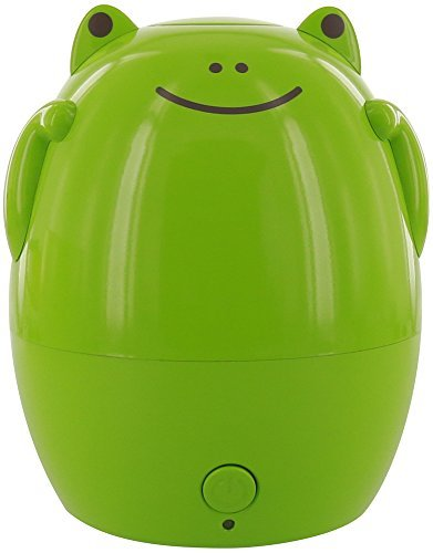 GreenAir Creature Comforts Kids Essential Oil Aroma Diffuser & Humidifier (Jax the Green Frog) by Green Air