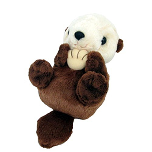 Sanei Squeaky Sea Otter Stuffed Plush 6