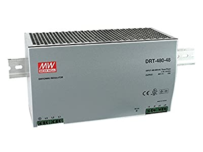 DRT-480-48 AC/DC Power Supply Single-OUT 48V 10A 480W 8-Pin