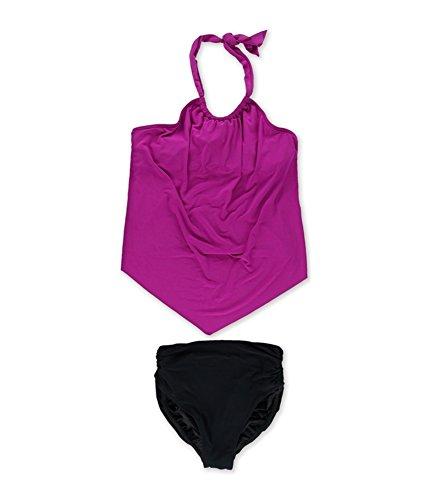 Nicole 2 Piece Suit - Magic Suit Womens Nicole Underwire Brief 2 Piece Tankini Purple 12