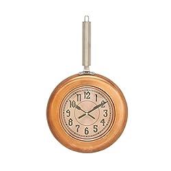 Metal Copper Wall Clock 10W, 17H 98440