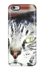 Iphone 6 Plus Hard Back With Bumper Silicone Gel Tpu Case Cover Animal by lolosakes