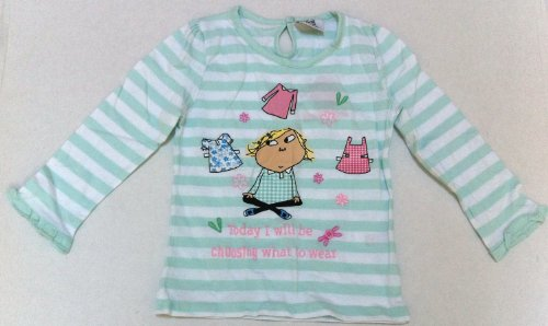 Girl 18 Months 2 Years Charlie & Lola Full Sleeve Shirt