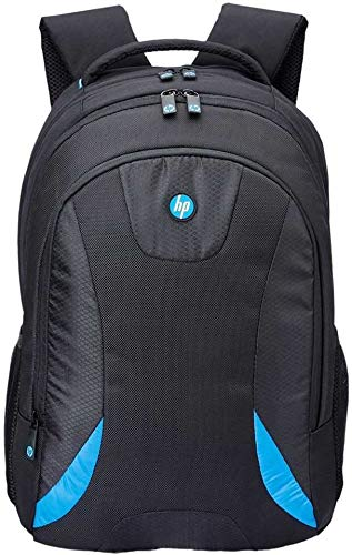 15.6 inch Expandable, Trending Casual Laptop Backpack for Office, School for Men Women Boys Girls/Office School College Teens & Students with RAIN Cover (Black and Blue)