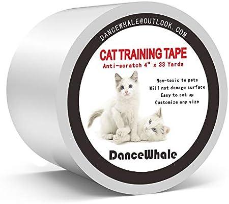 Dance Whale Cinta de entrenamiento anti arañazos para gatos ...