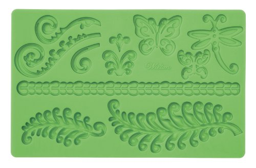Wilton Fondant and Gum Paste Silicone Mold, (Wholesale Silicone Molds)