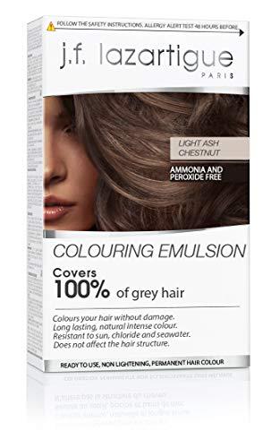 (J.F. Lazartigue Color Emulsion - Light Ash Chestnut 2.03 oz. )