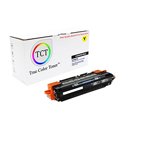 TCT Premium Compatible Q2682A Yellow Toner Cartridge for the HP 311A series - 6,000 yield- works with the HP Color LaserJet 3700, 3700DN, 3700DTN, 3700N printer models.