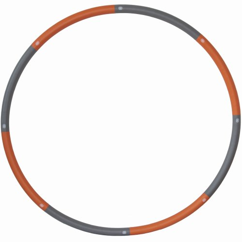 ResultSport The Original Foam Padded Level 2 Weighted 1.5kg (3.3lb) Fitness Exercise Hula Hoop 100cm wide