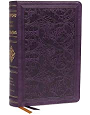 KJV, Personal Size Reference Bible, Sovereign Collection, Leathersoft, Purple, Red Letter, Comfort Print: Holy Bible, King James Version