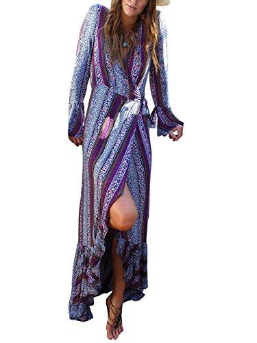 floaty sleeve chiffon floral dress - 7