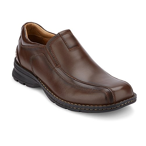 Dockers Men's Agent Slip-On,Dark Tan,7 M - Ons Oiled Professional Slip