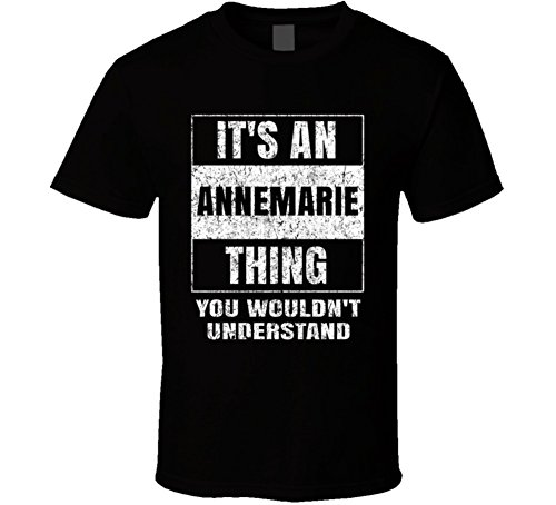 3711d6f1e yeoldeshirtshop It's an Annemarie Thing You Wouldn't Understand Distressed  Name T Shirt | Amazon.com