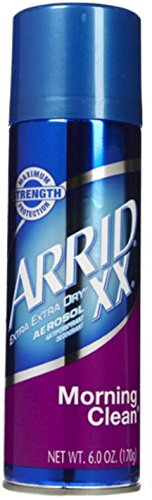 ARRID XX Anti-Perspirant Deodorant Spray, Morning Clean 6 oz