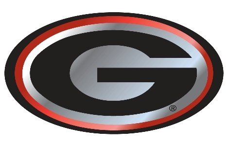 Georgia Bulldogs Trailer Hitch Cover (UGA GEORGIA BULLDOGS Mirrored Hitch Receiver Cover)