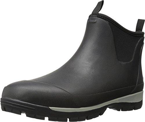 (Kamik Men's LarsLO Rain Boot, Black, 9 Medium US )