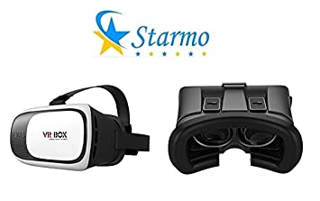 edc1f8ab206 Starmo 3D VR Glasses Box Virtual Reality Headset Helmet Video Viewing and  Games With Adjustable Pupil
