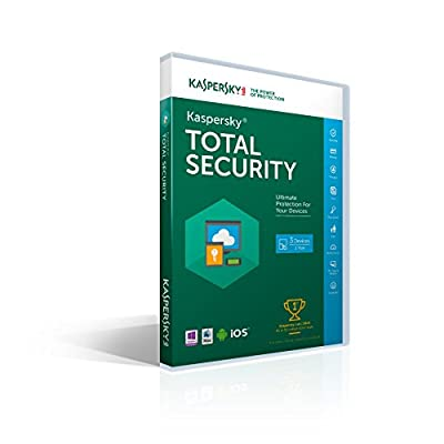 Kaspersky Total Security 2016 | 3 Devices | 1 Year [Key code]