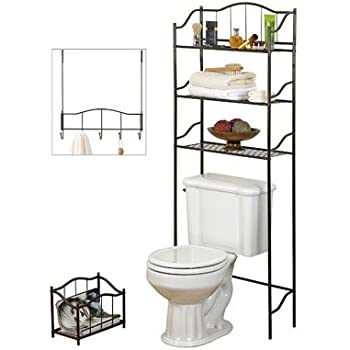 Creative Bath 3 Piece Complete Bath Set, Bronze
