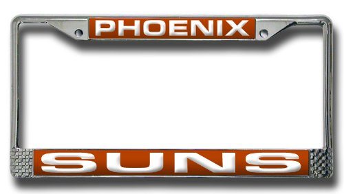 NBA Phoenix Suns Laser Cut Chrome Plate Frame