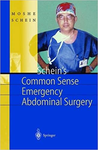 Schein's Common Sense Emergency Abdominal Surgery: A Small
