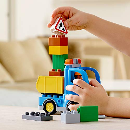 LEGO DUPLO Town Truck & Tracked Excavator Set