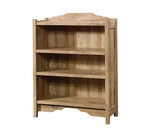 Sаudеr Viabella 3 Shelf Bookcase, 35.28L x 14.49W x 46.69H, Antigua Chestnut Finish