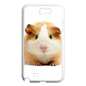 Diy Cute Hamster Phone Case for samsung galaxy note 2 White Shell Phone JFLIFE(TM) [Pattern-1]