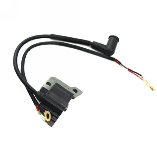 Jammas Petrol Gas Ignition Coil Fit for Chainsaw Strimmer Brush Cutter Brushcutter 4 Stroke Engine
