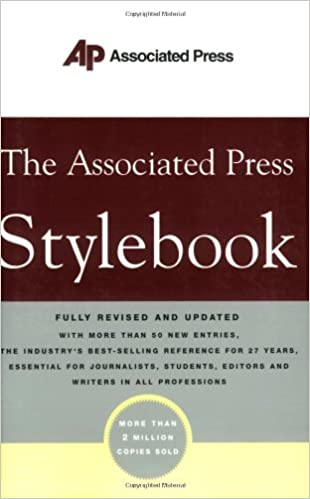 2c227a5bc5 The Associated Press Stylebook  Norm Goldstein  9780465004881 ...