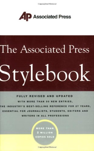 Pdf Reference The Associated Press Stylebook