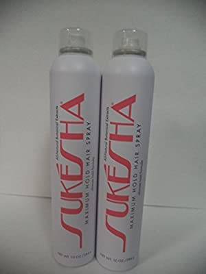 Sukesha Maximum Hold Hair Spray Duo Set 10 oz.