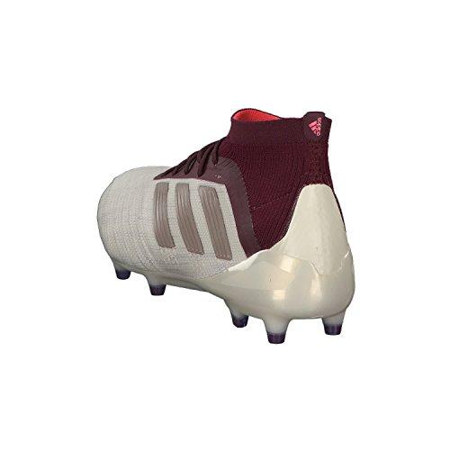 adidas Predator 18.1 FG W, Botas de Fútbol Para Mujer Multicolor (Talco / Grmeva / Granat 000)