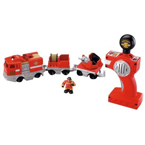 Fisher Price L5911 Rail & Road System RC Set - Smokey & Jos