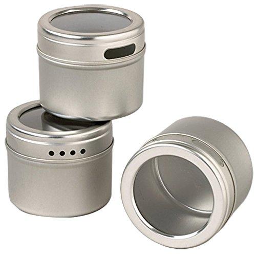 Kamenstein Magnetic Storage Tins, Set of 12