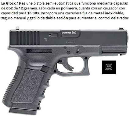 Umarex Glock 19 co2 corredera Metalica