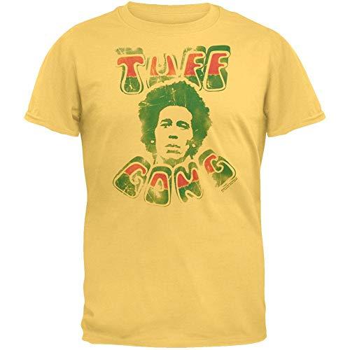 01baea0723d Bob Marley - Mens Tuff Gong Vintage T-shirt Small Yellow