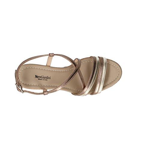 Donna Sandali Giardini P805695d Sandalo 5695 Scarpe Nero 4ftxgzg