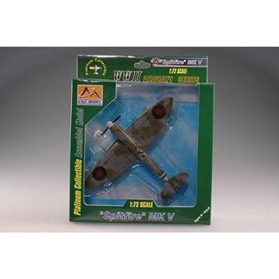 "Easy Model ""Spitfire"" MK V RAF 303 Squadron 1942 Building Kit"
