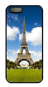 eiffel france Custom iPhone 5s/5 Case Cover Polycarbonate Black