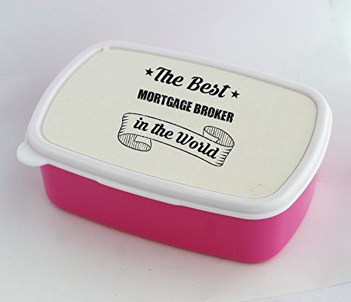 Lunch box with THE BEST Mortgage Broker IN THE (Mortgage Kit)