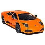 """Luxe Radio Control Orange Lamborghini Murcielago LP 670-4 SV, 7"""" Full Fuction Radio Controlled"""