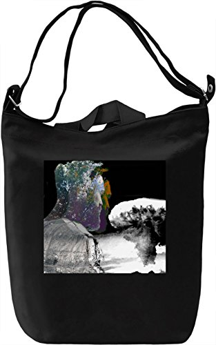 Blow up Borsa Giornaliera Canvas Canvas Day Bag| 100% Premium Cotton Canvas| DTG Printing|