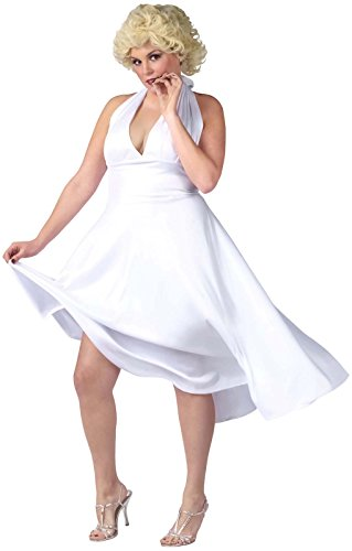 Costumes Marilyn Size Plus Monroe (Screen Goddess Adult Costume Marilyn Monroe)