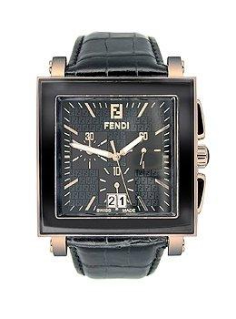 più recente 191bc 7902d Fendi Orologi Chronograph Rose Gold Men's Watch: Amazon.co ...