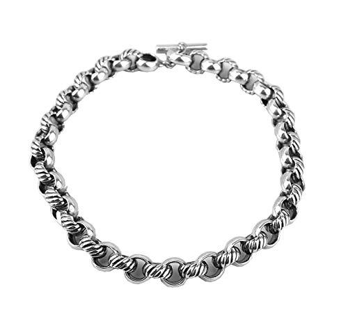 David Yurman Large Round Link Chain Necklace 19