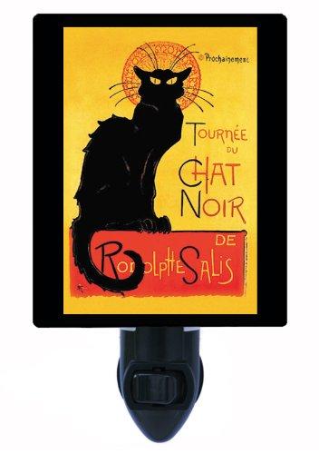 Vintage Cat Night Light - Chat Noir (Chat Light)