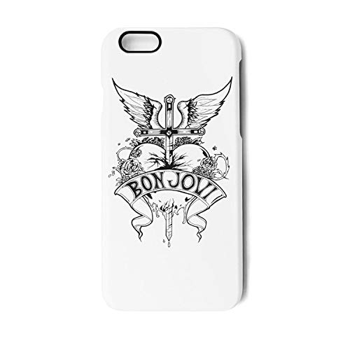 iPhone 6 PLUS/6S Plus Case Music Band Album Style Shock Absorption Technology Bumper Soft TPU Rubber Phone Cover for Apple Fit