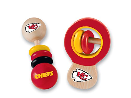 MasterPieces NFL Kansas City Chiefs Baby Rattle